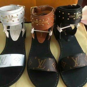 Shoes - BRAND  NEW LOUIS VUITTON SANDALS!